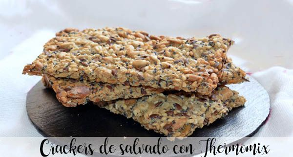 Bran crackers with Thermomix