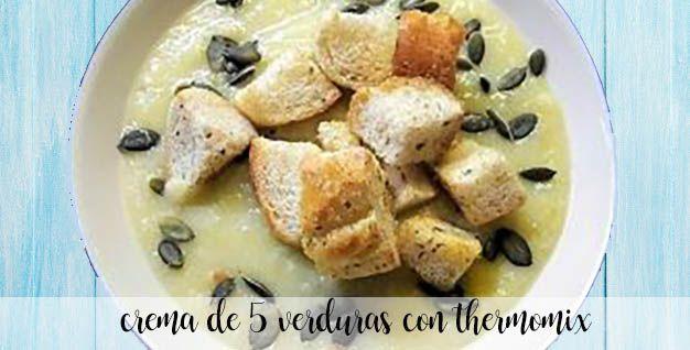 cream 5 vegetables thermomix