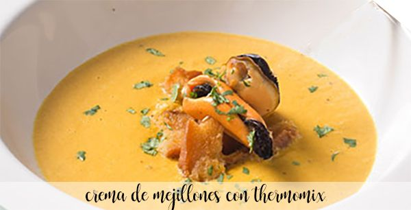 Mussel cream with Thermomix