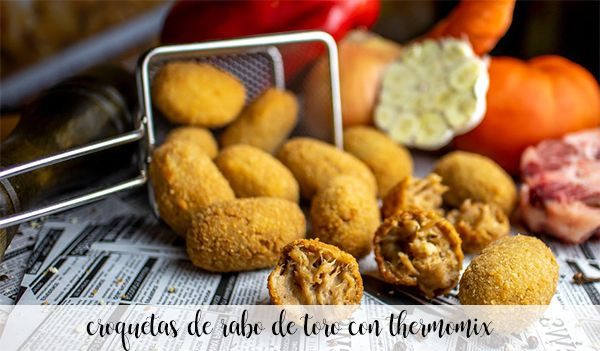 Oxtail croquettes with Thermomix