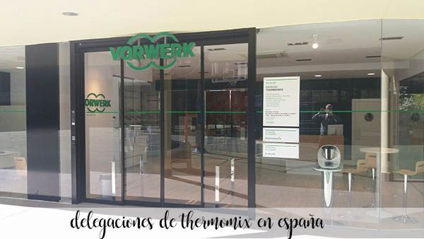Thermomix branches in Spain