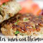 Russian steaks with thermomix