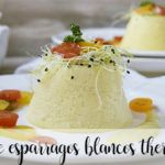 White asparagus flan with thermomix