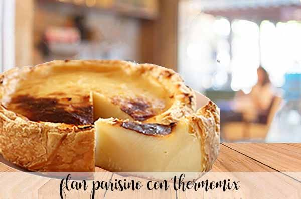 Parisian flan with thermomix