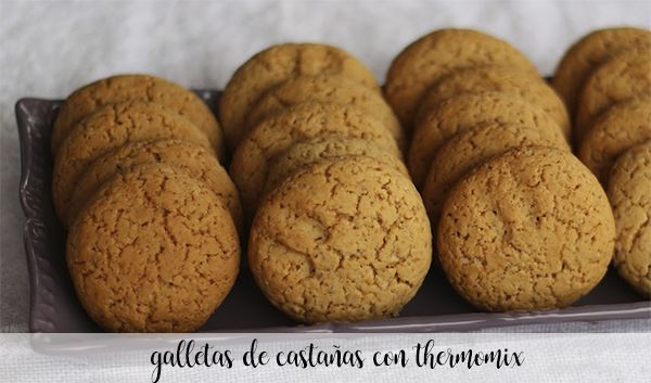 chestnut cookies with thermomix