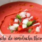 beet gazpacho with thermomix