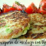 Hake burgers with Thermomix