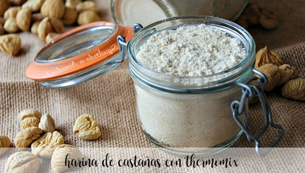Chestnut flour with thermomix