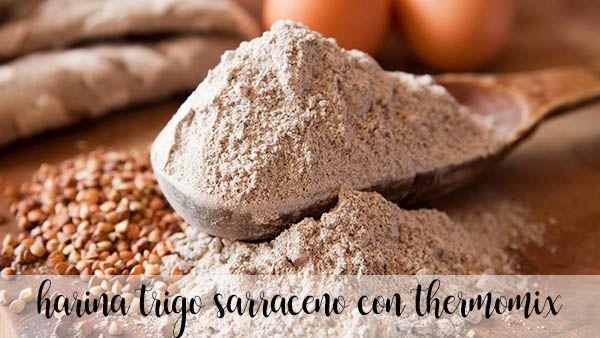 Gluten-free buckwheat flour with thermomix
