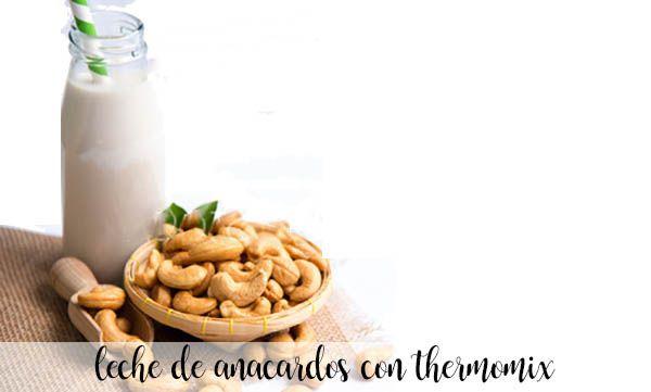 cashew milk with thermomix