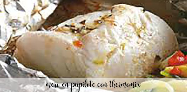 Grouper in papillote thermomix