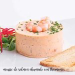 Smoked salmon mousse with thermomix
