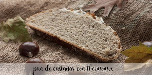 Chestnut bread with thermomix