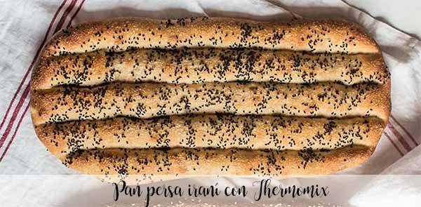 Iranian Persian bread with Thermomix