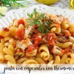 pasta with emperor with thermomix