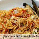 frutti di mare pasta with thermomix