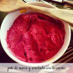 Walnut and beetroot pate with the Thermomix