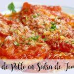 Chicken Breasts in Fried Tomato Sauce