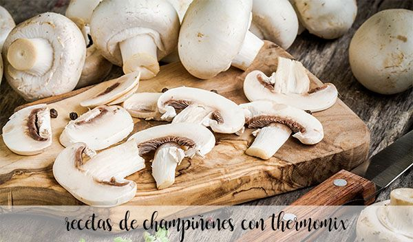 40 mushroom recipes with thermomix