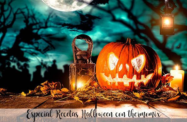Halloween recipes with thermomix