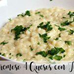 risotto with 4 cheeses