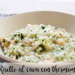 Cava risotto with thermomix