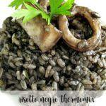 Black risotto thermomix