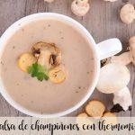 mushroom sauce with thermomix