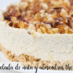 Ice cream and almond cake with thermomix