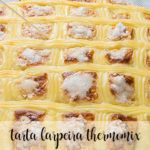 Galician larpeira cake with thermomix