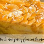 Apple and flan cake with thermomix