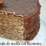nocilla cake with thermomix