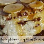 Banana cake with Thermomix cookies