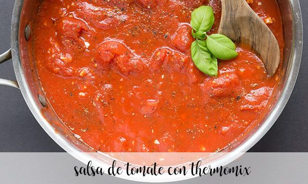 tomato sauce with thermomix